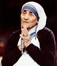 Photo: Mother Teresa.