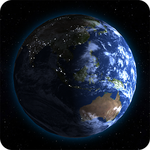 Earth 3d live wallpaper for android for Home design 3d paid version apk
