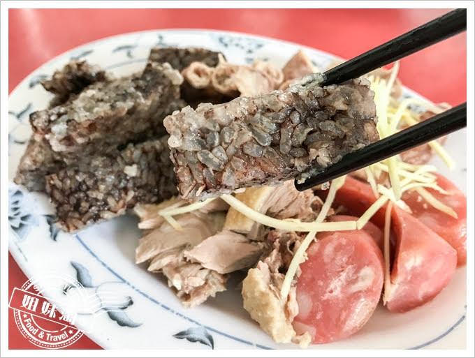 阿吉鴨肉麵黑白切米血