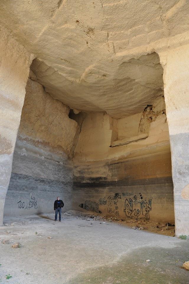 Interior de la balsa del Polvorín.