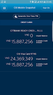 Citi Mobile- screenshot thumbnail