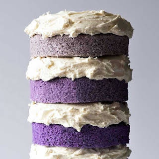 Naked Purple Ombre Cake.