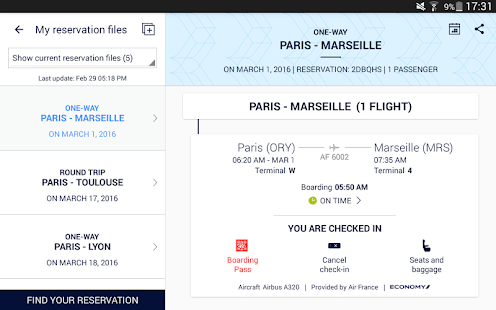 Air France- screenshot thumbnail