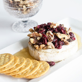 Cranberry Walnut Baked Brie.