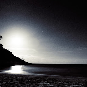 black redang by Lanoi Krueger - Novices Only Landscapes ( #black and white landscape )