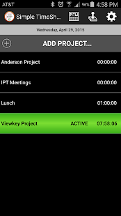 Simple TimeSheet- screenshot thumbnail