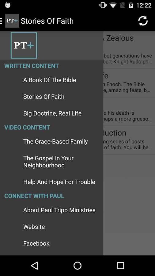 The Paul Tripp App- screenshot