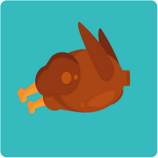 Thanksgiving family game - Flying Turkey