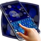 Blue Bubble Keyboard Skin icon