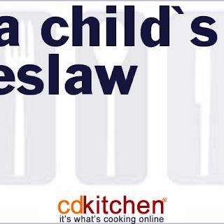 Julia Child's Coleslaw.