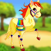 Little Pony Makeup Dress Up Equestrian Girls Games