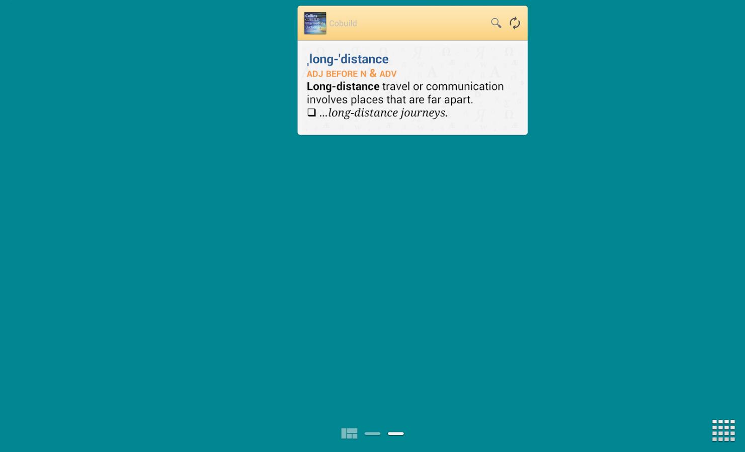 Collins Cobuild Intermediate - screenshot