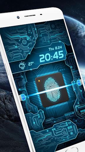Fingerprint Scanner to Unlock Phone Prank  screenshots 2