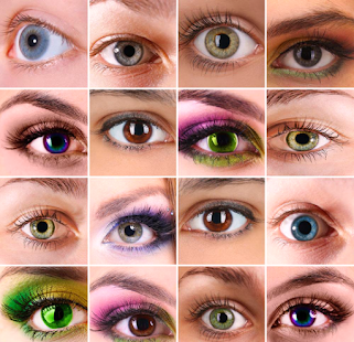 Eye Color Changer Makeup Screenshot