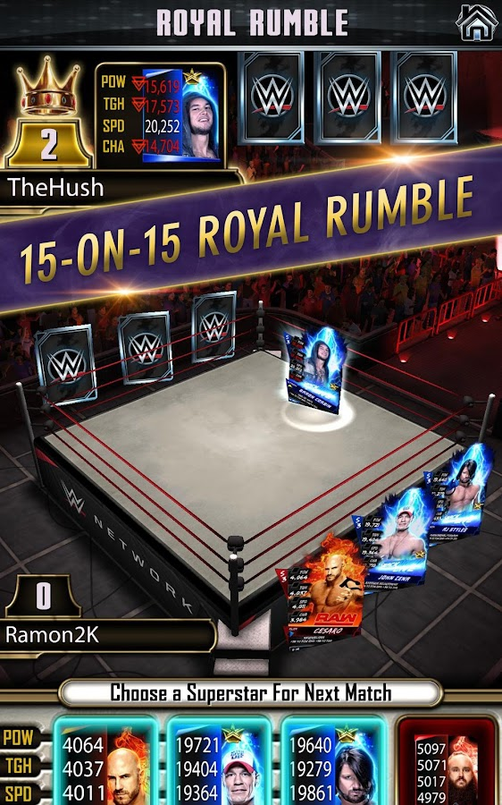 WWE SuperCard- screenshot