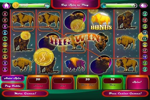 Wild Buffalo Casino Slots FREE
