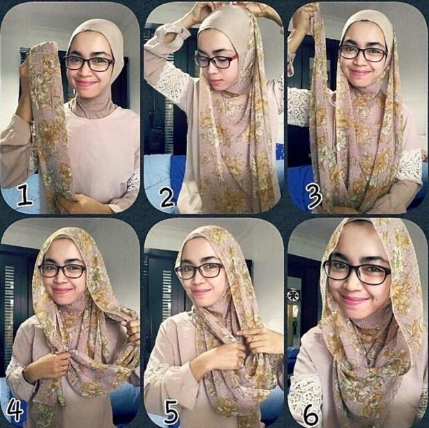 Tutorial hijab simple 2017 - Android Apps on Google Play