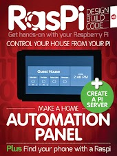 RasPi magazine – Design Build & Code with Raspberry Pi