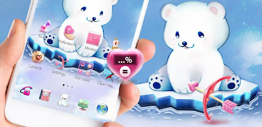 Ice Cute Bear theme is coming!