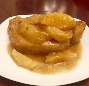 Apple Pork Chops with Cider Gravy