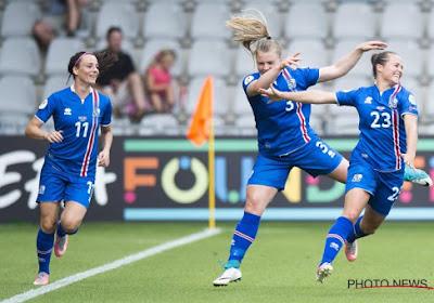 IJsland zet stap richting EK, Malta (met ex-Anderlechtspeelster en Charleroispeelster) zorgt voor unieke primeur