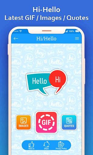 Hi Hello GIF 1.0 screenshots 1