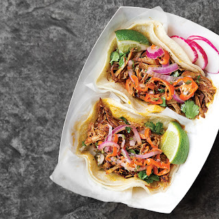 YucatáN-Style Shredded Pork Tacos with Achiote (Cochinita Pibil Tacos) Recipe
