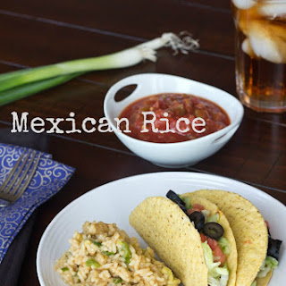 Mexican Rice (Healthy).