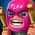 FLEX: 3D Shooter & Battle Royale icon