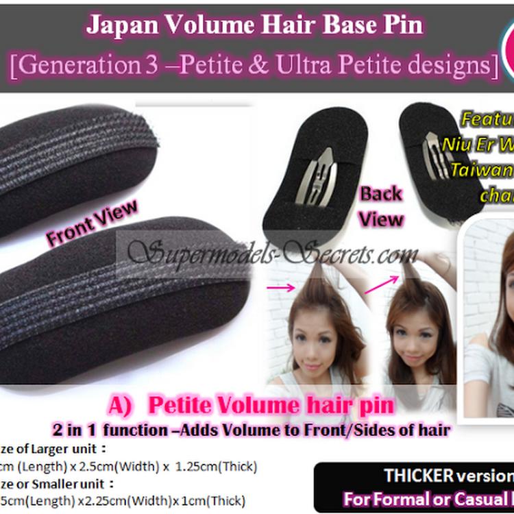 Volume Hair Pin Volumising Hair Inserts - Ultra Petite by Supermodels Secrets