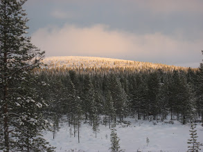 Photo: Kaamosaika ei ihan vielä ole alkanut Saariselällä..21.11.2007