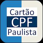 Cartão CPF Paulista icon
