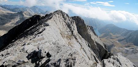 Photo: La carena del Ballibierna en direcció a la vall de Llauset