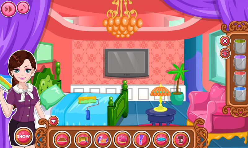 android Hotel Room Makeover Screenshot 2