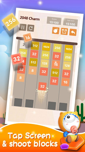 2048 Charm: Classic & Free, Number Puzzle Game 4.6501 screenshots 5