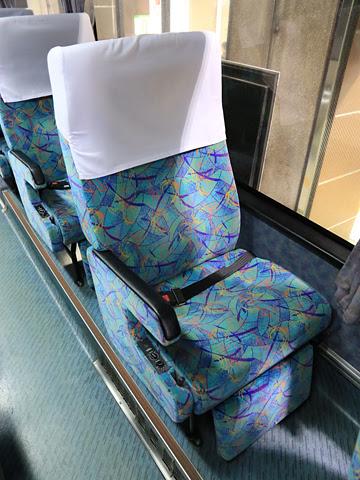 西鉄高速バス「桜島号」 9134 シート