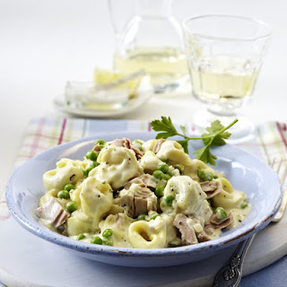 Tortellini with Peas and Tuna