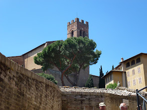 Photo: outside of our hotel in Siena