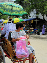 Photo: Year 2 Day 55 - Rear and Front Facing Seating on the Rickshaw