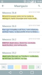 Biblia Takatifu – Swahili Bible APK Download – Free Books & Reference APP for Android 5