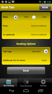 Yellow Cab Nanaimo App- screenshot thumbnail