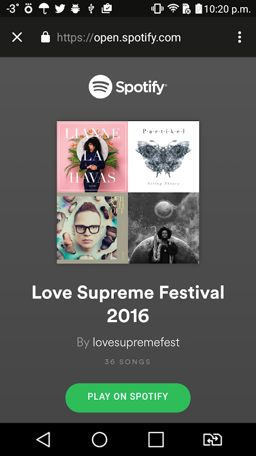 LOVE SUPREME FESTIVAL- screenshot