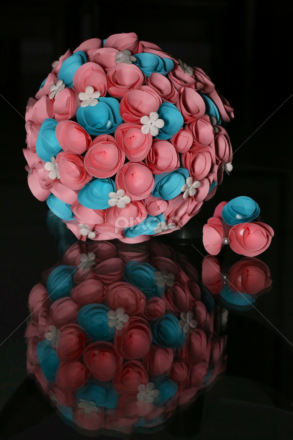 Paper Hand Bouquet by Daniel Quek - Artistic Objects Other Objects ( bouquet, paper, wedding )