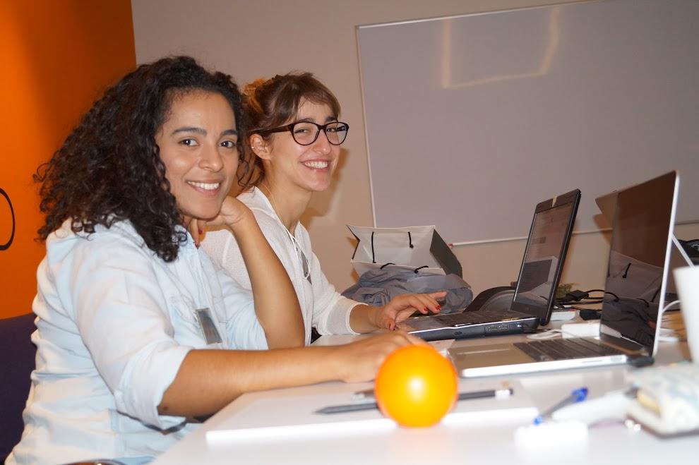 Datathon team working