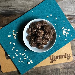 Chocolate-Mint Energy Bites.