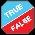 False is True - Math quiz icon