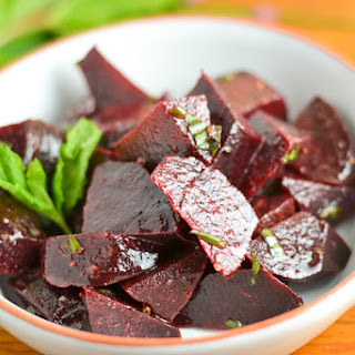 Beet and Herb Salad.