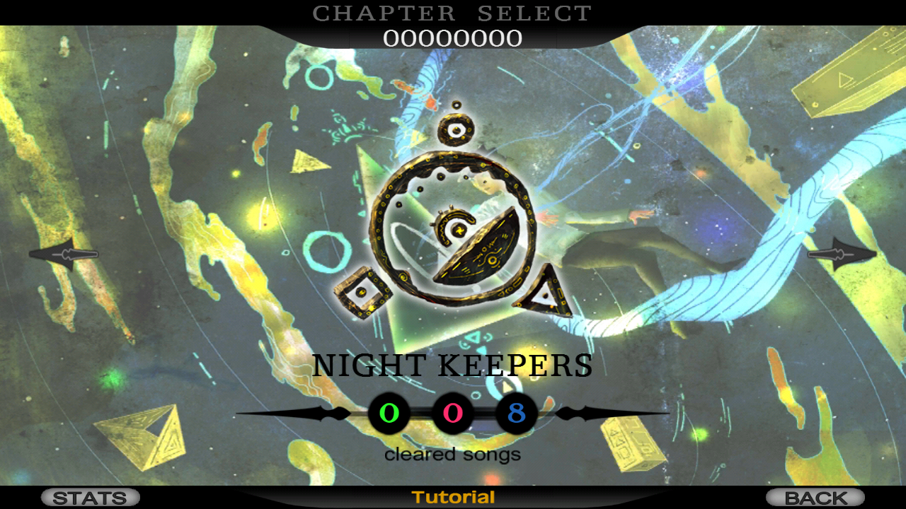 Cytus- screenshot