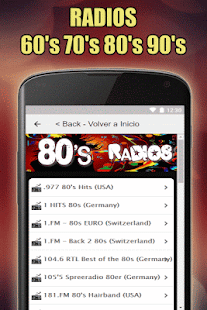 App Oldies 60s 70s 80s 90s Radios. Retro Radios Free APK for Windows Phone