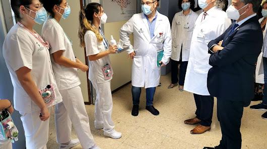 Cerca de 450 estudiantes de la UAL siguen sus prácticas en Torrecárdenas